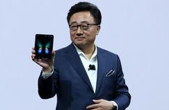 Samsung crée l'événement avec le premier smartphone à écran pliable