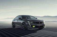 Peugeot 508 Concept Sport Engineered, la berline met les watts