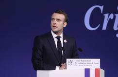 Antisémitisme: devant le Crif, Macron promet des «actes»