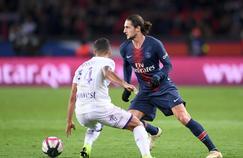 Adrien Rabiot, lors du match Paris SG - Toulouse le 24 novembre 2018.