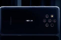 Un smartphone à cinq appareils photo chez Nokia