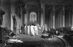 15 mars 44 av. J.-C.: Jules César est assassiné à Rome