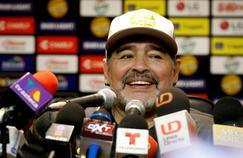 Diego Maradona n'a pas apprécié l'affiche du documentaire qui lui est dédié.
