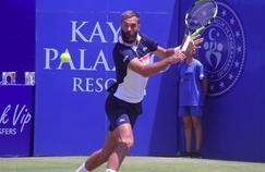 Benoît Paire a joué sous une température caniculaire à Antalya.