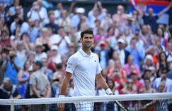 Djokovic sur le gazon de Wimbledon