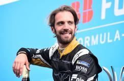 Jean-Eric Vergne au Grand Prix de Paris de Formule E