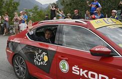Emmanuel Macron sur le Tour de France 2017