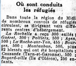 «Le Figaro» du 30 janvier 1939.