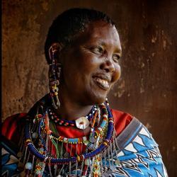 Une jeune femme Masai.