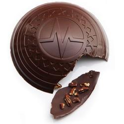 Le bouclier en chocolat de Christophe Michalak.