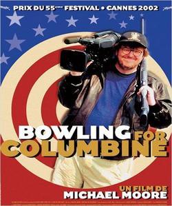 Le film <i>Bowling for Columbine</i> de Michael Moore faisait la critique d'une Amérique gangrénée par la violence des armes à feu