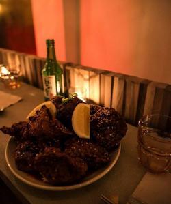 Le poulet frit de Hero (Crédits: The Party Diary / Thomas Smith).