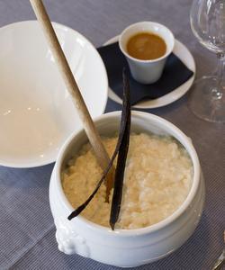 Le riz au lait de La Régalade (XIVe).