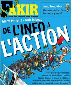 Couverture du dernier numéro de Fakir.