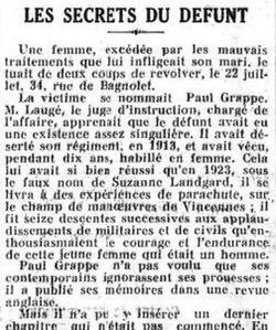 Le Figaro du 25 août 1928