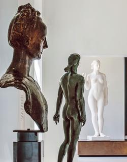 Le Musée Paul Belmondo à Boulogne Billancourt (92).