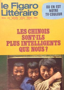 Le Figaro Littéraire du 25 mai 1970.