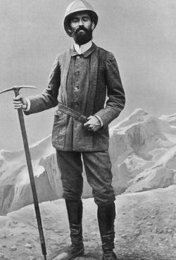Joseph Vallot (1854-1925), le créateur de l'observatoire Vallot au Mont-Blanc.