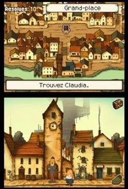 Le jeu «Point&Click»Professeur Layton, de Nintendo, est l'un des plus connus du genre en France.