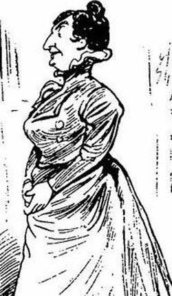 Madame Petypon («Le Journal amusant» du 4 février 1899).
