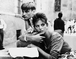 Jacques Perrin et Claudia Cardinale dans «La Fille à la valise».