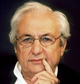 L'architecte américano-canadien, Frank Gehry en 1999.