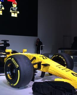 La F1 R.S. 17 à L'Atelier Renault
