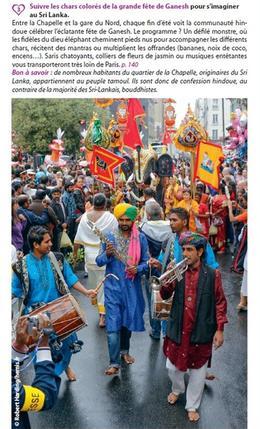 Grande fête de Ganesh à Paris