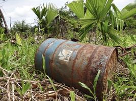 650.000 barils ont été abandonnés par Texaco dans la forêt équatorienne @creative commons Flickr