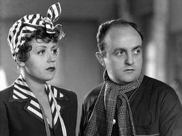 Suzy Delair avec Bernard Blier en 1947 dans Quai des Orfèvres.