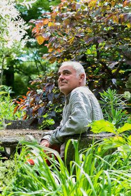 Le paysagiste Pierre-Alexandre Risser. Crédit photo: Appoline Risser