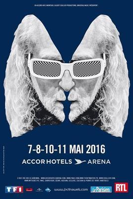 Le chanteur a prévu quatre concerts à Paris Bercy au mois de mai.