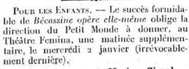 «Le Figaro» du 23 décembre 1923.