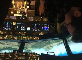 Le cockpit. Crédit: Quentin Périnel (DR).