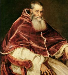 Le cardinal Alexandre Farnèse, devenu pape sous le nom de Paul III fait construire un palais monumental en 1519.