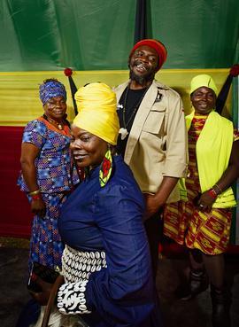 Le festival de reggae Rebel Salute attire des milliers de Jamaïcains chaque année.