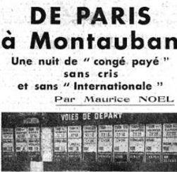 Extrait de la Une du «Figaro» du 7 août 1938.