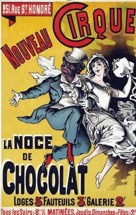 Premier spectacle à succès pour le clown Chocolat.