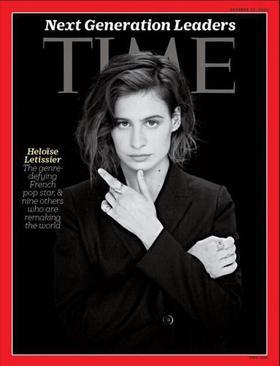 Héloïse Letissier, alias Christine and the Queens, à la une de «Time» en octobre dernier.