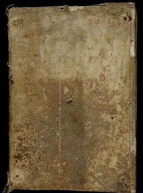 La couverture en peau de phoque d'un manuscrit de l'abbaye de Clairvaux.