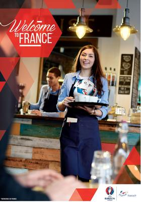 L'affiche de la campagne «Welcome to France»