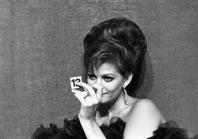 Photo (non retouchée) de Claudia Cardinale dans <i>The Magnificent Cuckold</i> d'Antonio Pietrangeli en 1964