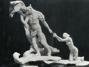 «L'Âge Mûr» de Camille Claudel (1864-1943).