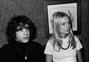 Julien Clerc et France Gall en 1969.