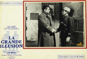 «La Grande Illusion» de Jean Renoir en 1937, avec Jean Gabin, Pierre Fresnay, Erich von Stroheim...