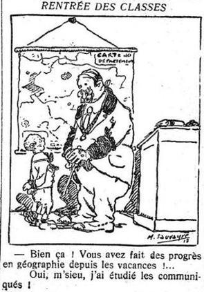 Dessin du «Petit Journal» du 2 octobre 1918.