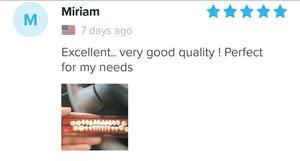 «Excellent, très bonne qualité, parfait pour mes besoins»