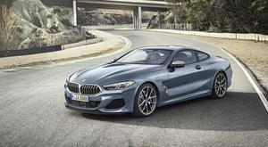 Coupé BMW Série 8.