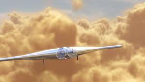 Concept de drone vénusien imaginé par l'entreprise américaine Northrop Grumman.