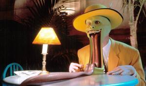 Dans le cartoonesque «The Mask» en 1994.